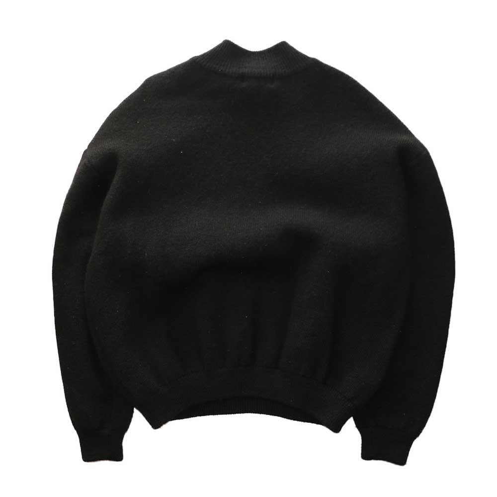 w-means(ダブルミーンズ) 95F Patagonia ハーフジップウールニットセーター 表記XL  Black 詳細画像5