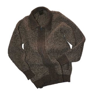 INIS MEAIN KNIT WEAR (Made in IRELAND)表記42  薄茶色