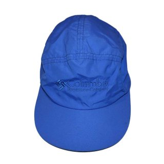 Columbia ナイロンキャップ (Made in U.S.A.)表記(Mens)M  ROYAL BLUE