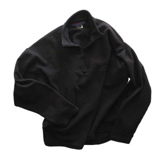 mont-bell 長袖フリースカットソー(Made in U.S.A.)表記L   Black