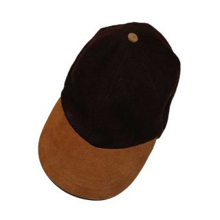 unknown ウールキャップ one size fits all Brown×Beige