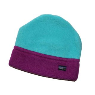 Patagonia  freece  cap (Made in U.S.A.)表記S  mint green × grape