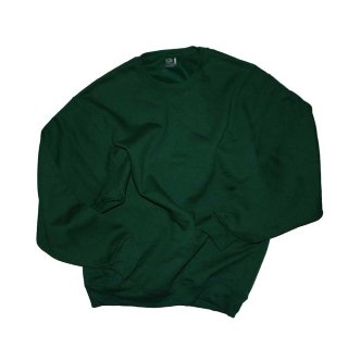 FRUIT OF THE LOOM SWEATSHIRT(FEEL THE SOFTNESS)表記L forest green
