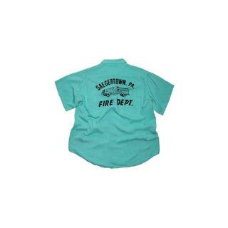 NAT NAST  Rayon Open Color Shirt  表記なし  Mintgreen
