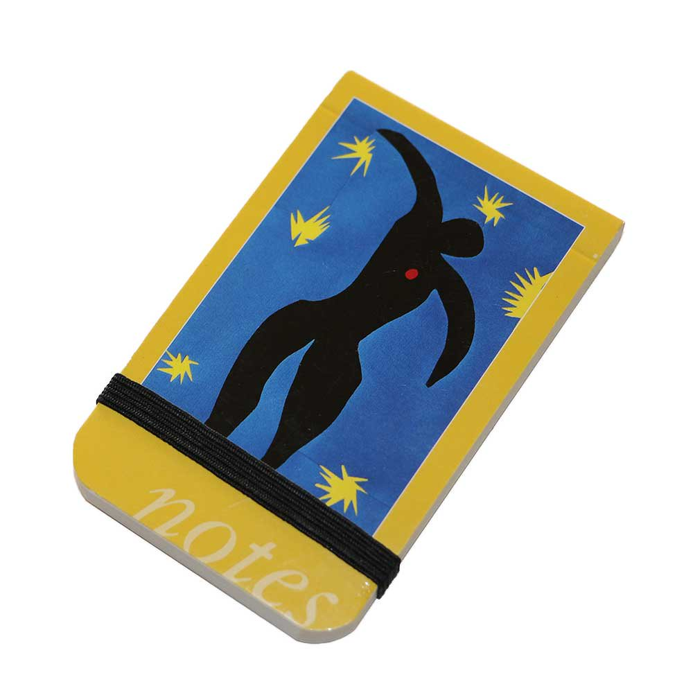 w-means(ダブルミーンズ) HENRI MATISSE (1869~1954)NOTES  9.5cm×6cm  Yellow 詳細画像