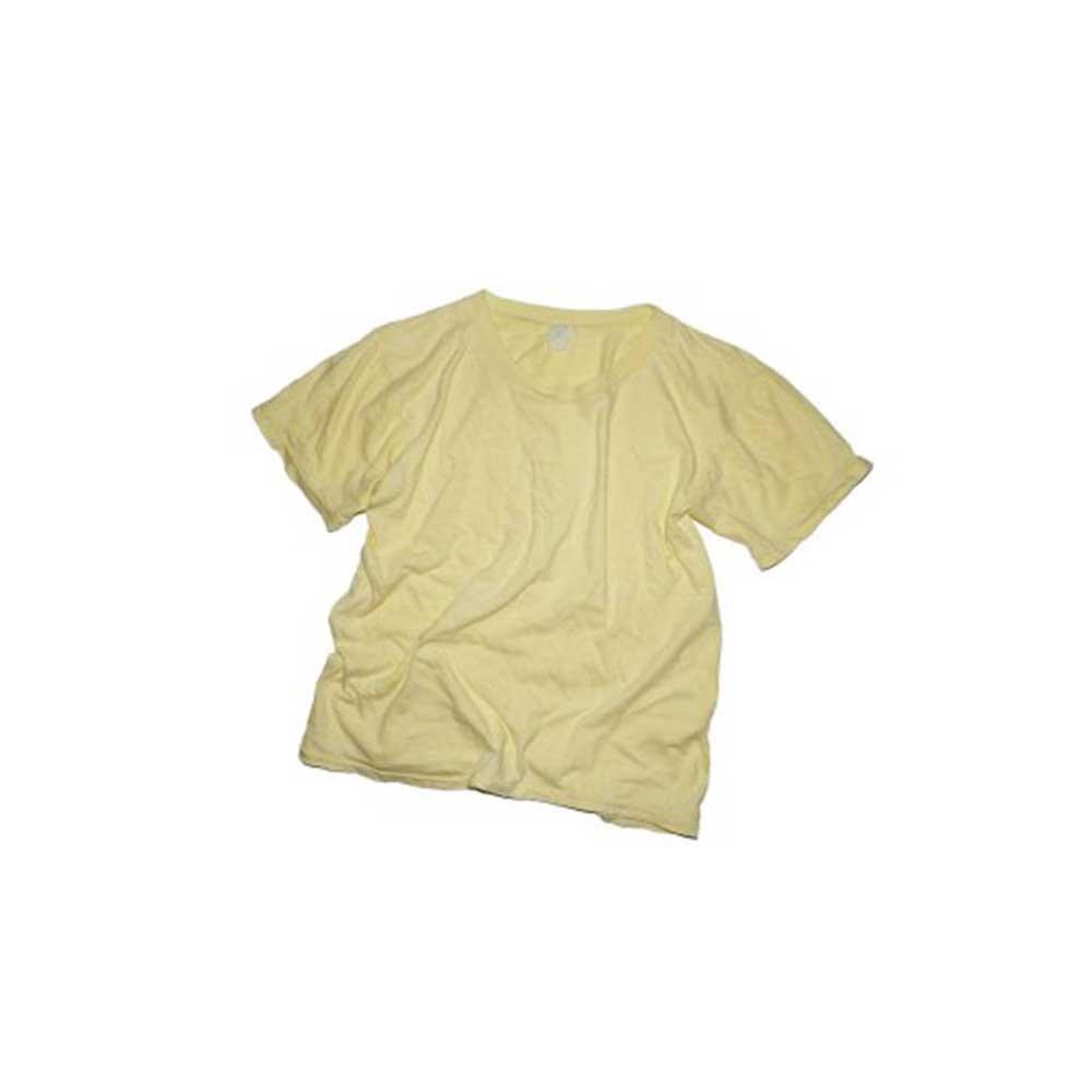 w-means(ダブルミーンズ) 70's SUPER FANTASY  100% COTTON 半袖Tシャツ  表記L  CREAM 詳細画像