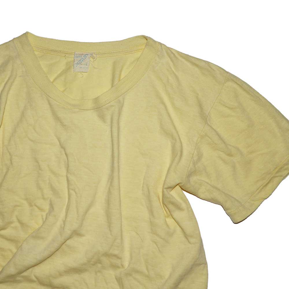 w-means(ダブルミーンズ) 70's SUPER FANTASY  100% COTTON 半袖Tシャツ  表記L  CREAM 詳細画像2