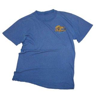 80's POWELL 100% コットン半袖Tシャツ   表記なし  Light Blue