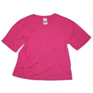 90's G A P  コットン半袖Tシャツ  表記M   躑躅色