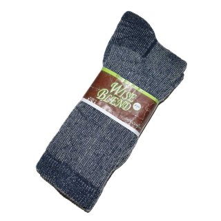 Wise blend wool socks(Made in U.S.A.)表記9-13  Gray