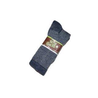 Wise blend wool socks(Made in U.S.A.)表記9-13  Gray