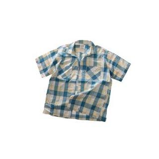 60's Penny's TOWNCRAFT  コットンオープンカラーシャツ  表記M  チェック柄
