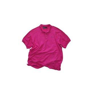 90's Patagonia 100% コットン半袖ポロシャツ  表記M  P.PINK