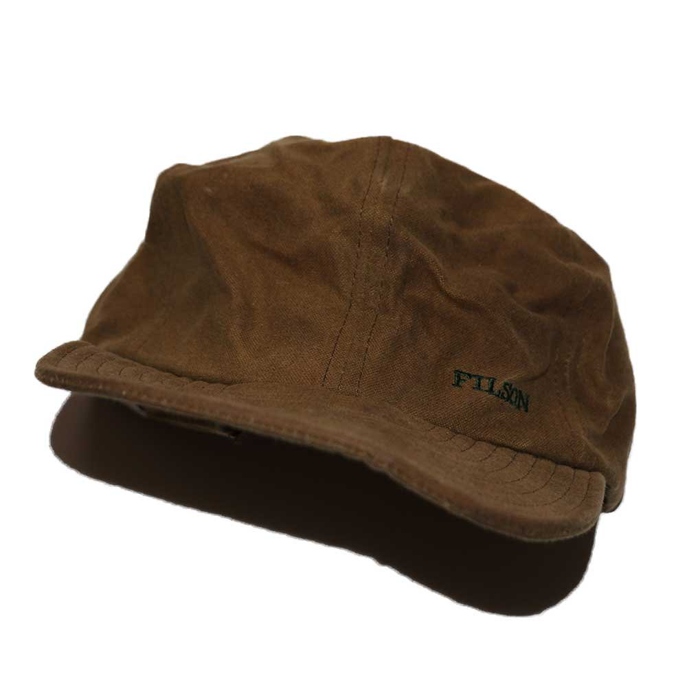 w-means(ダブルミーンズ) FILSON CAP (MADE IN U.S.A.)ONE SIZE FITS ALL  朽葉色 詳細画像1