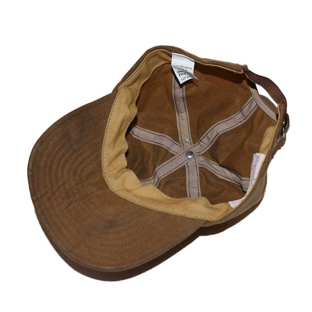 w-means(ダブルミーンズ) FILSON CAP (MADE IN U.S.A.)ONE SIZE FITS ALL  朽葉色 詳細画像2