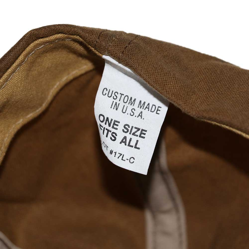 w-means(ダブルミーンズ) FILSON CAP (MADE IN U.S.A.)ONE SIZE FITS ALL  朽葉色 詳細画像4