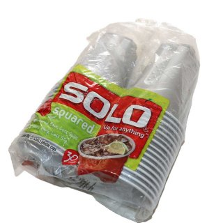 SOLO CUP (30count )18oz 532mL  Silver