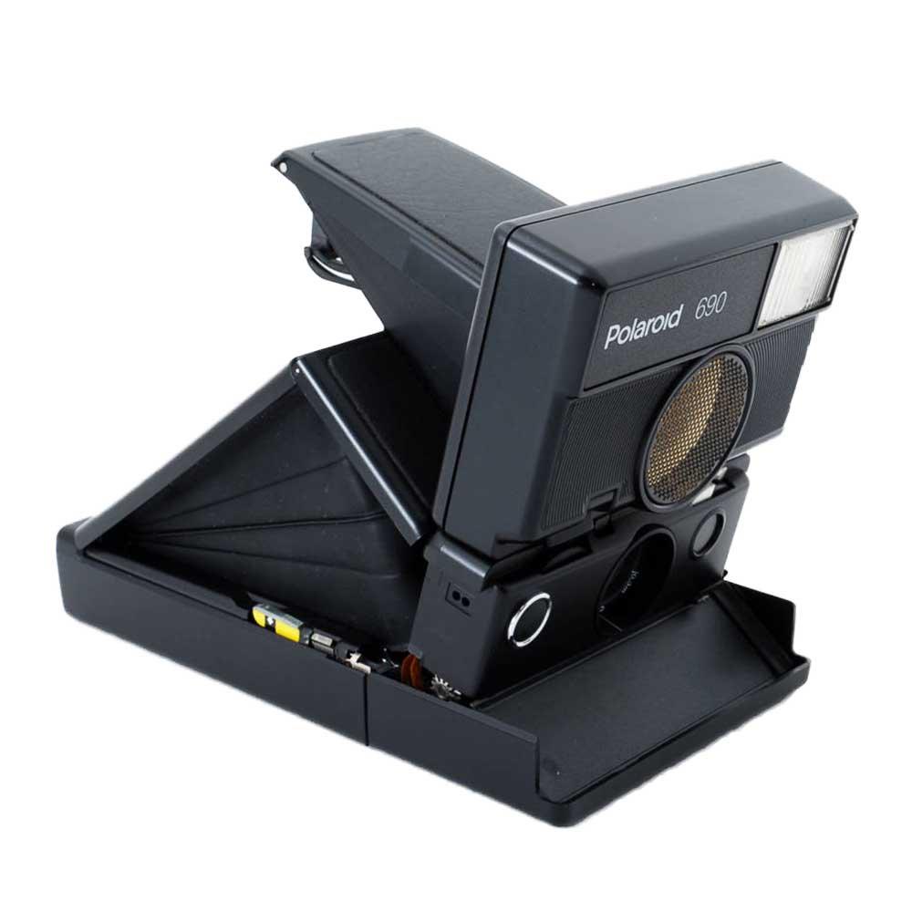 w-means(ダブルミーンズ) Polaroid ポラロイド 690 元箱(付属品付き )one size  Black 詳細画像13