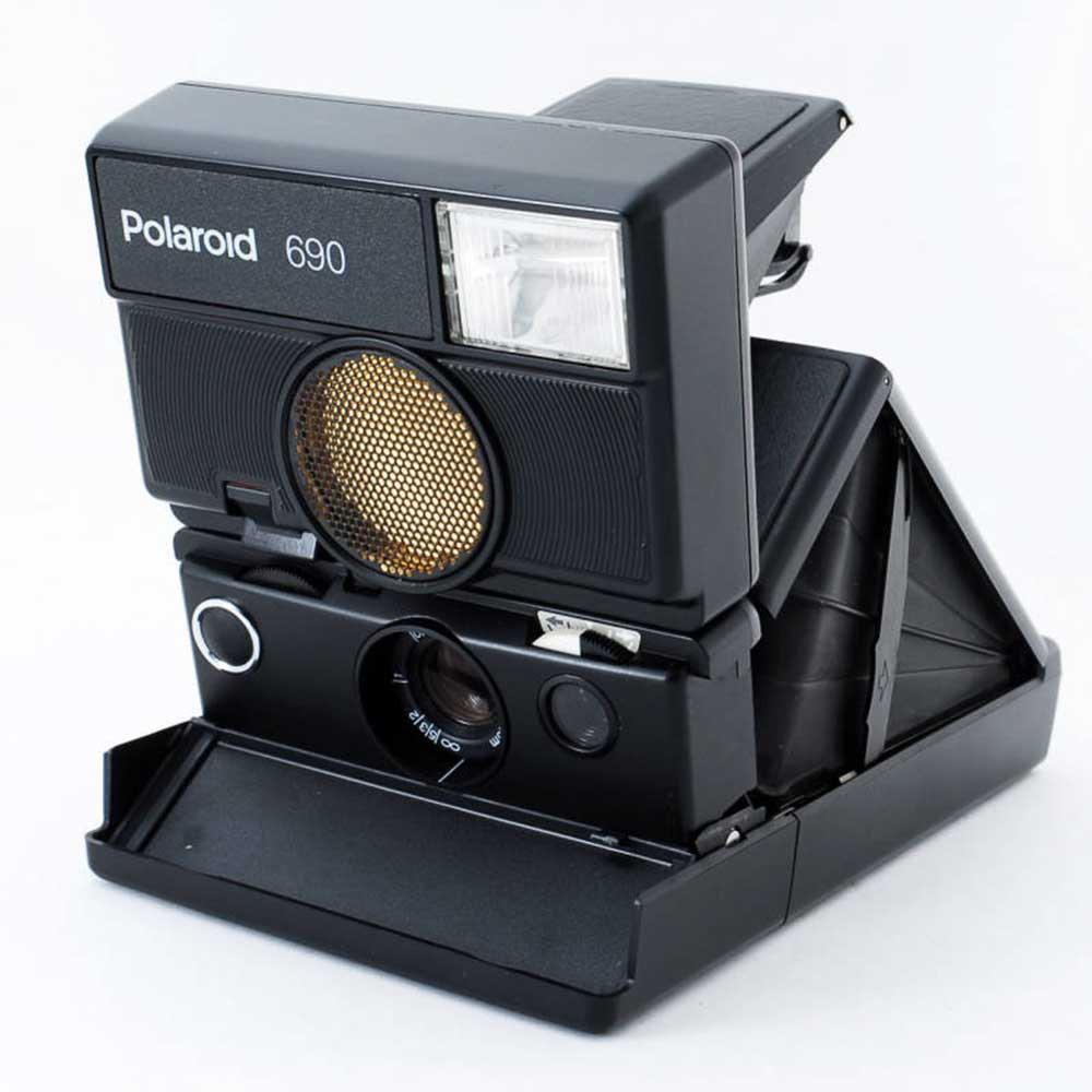 w-means(ダブルミーンズ) Polaroid ポラロイド 690 元箱(付属品付き )one size  Black 詳細画像14