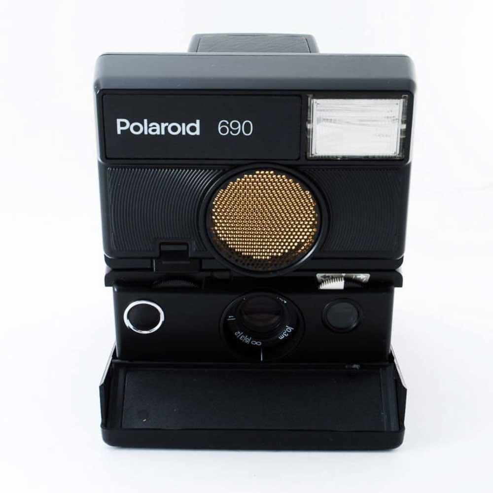 w-means(ダブルミーンズ) Polaroid ポラロイド 690 元箱(付属品付き )one size  Black 詳細画像15
