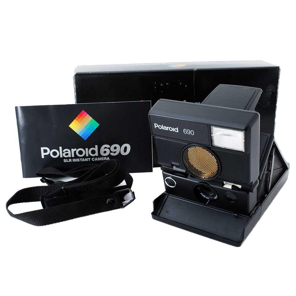 w-means(ダブルミーンズ) Polaroid ポラロイド 690 元箱(付属品付き )one size  Black 詳細画像6