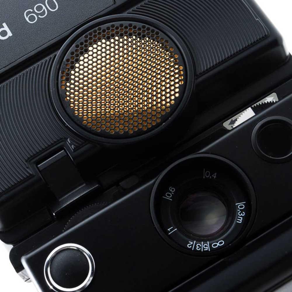 w-means(ダブルミーンズ) Polaroid ポラロイド 690 元箱(付属品付き )one size  Black 詳細画像9