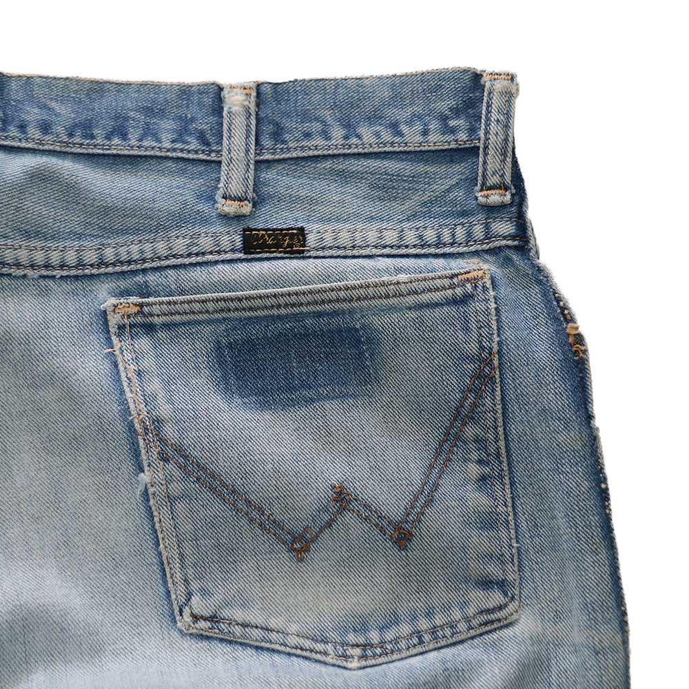 w-means(ダブルミーンズ) Wrangler デニムパンツ (Made in U.S.A.)表記36   インディゴブルー 詳細画像6