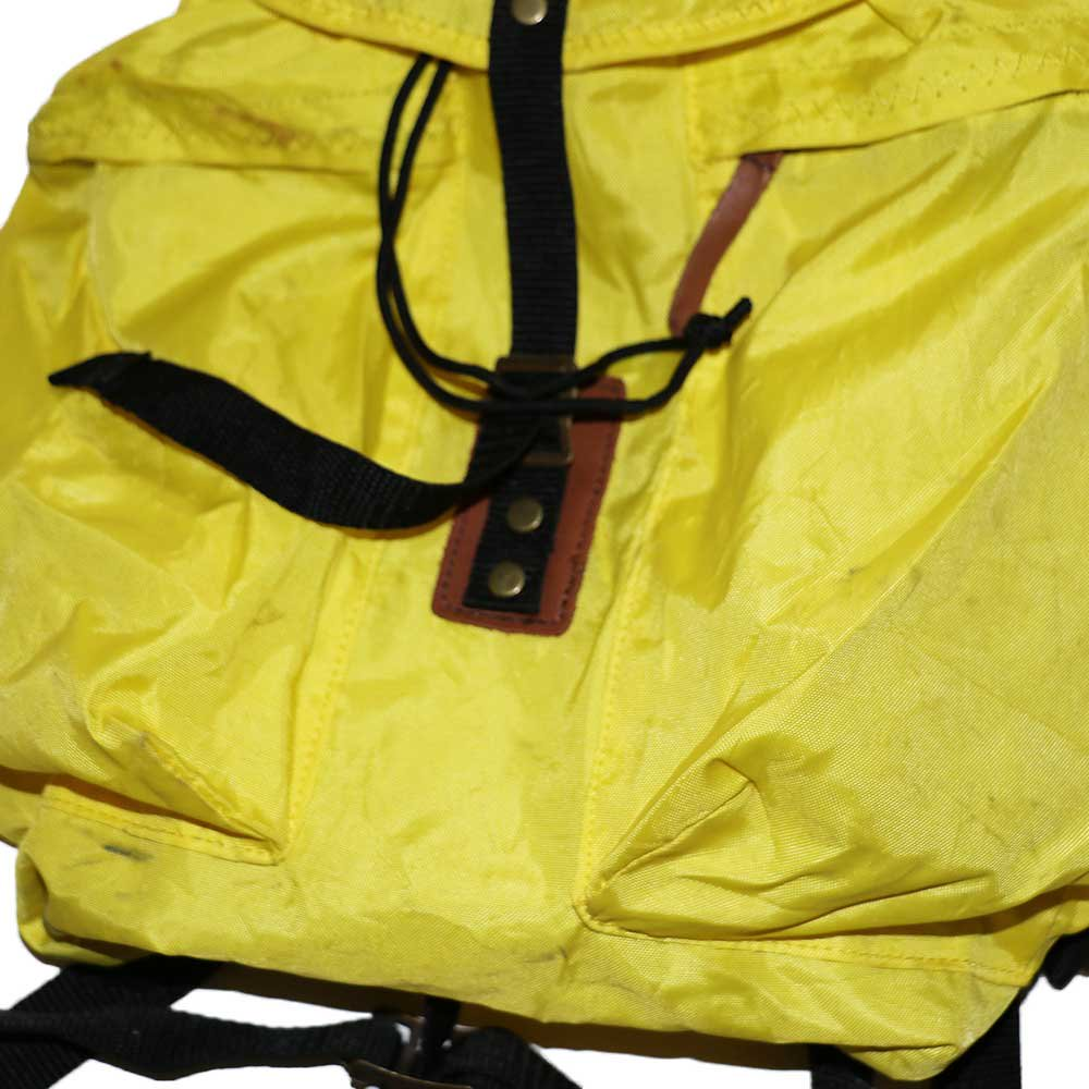 w-means(ダブルミーンズ) 80's eddie bauer ナイロンバックパック one size  yellow 詳細画像2