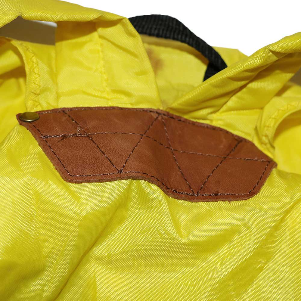 w-means(ダブルミーンズ) 80's eddie bauer ナイロンバックパック one size  yellow 詳細画像4