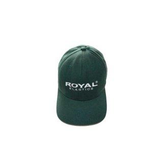 90's ROYAL ELASTICS  FLEXFIT  ACRYLIC CAP  表記S-M  フォレストグリーン