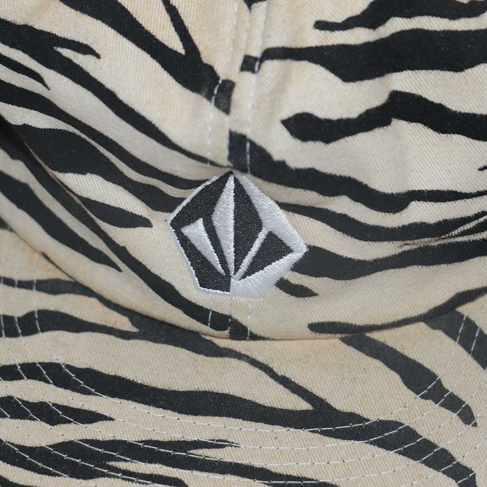 w-means(ダブルミーンズ) VOLCOM  メッシュキャップ  one size fits all  ゼブラ柄 詳細画像1