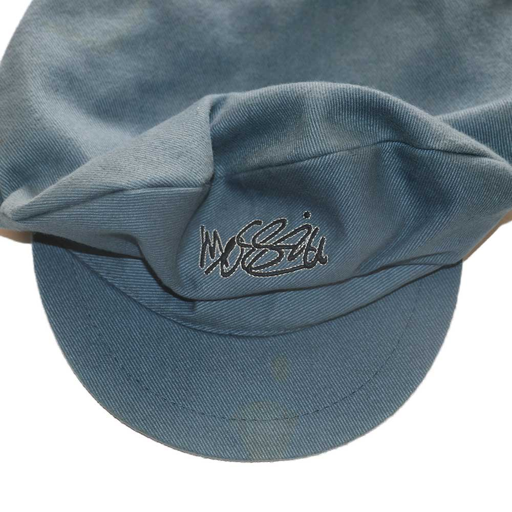w-means(ダブルミーンズ) MOSSIMO コットンキャスケット  one size fits all  藍色 詳細画像2