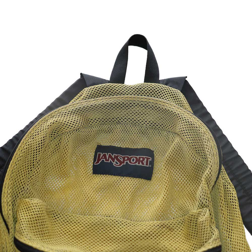 w-means(ダブルミーンズ) JANSPORT ナイロンメッシュバッグパック  one size  褪黄色 詳細画像1
