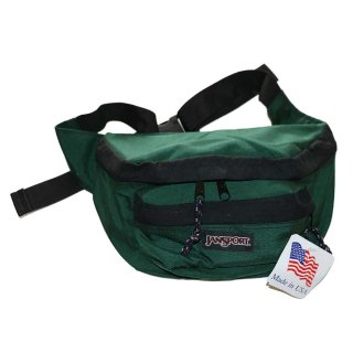 JANSPORT ナイロンウエストバッグ(Dead Stock)one size  forestgreen