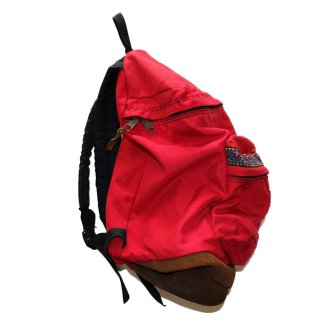 JANSPORT ナイロンバックパック(Made in U.S.A.)表記なし  Native Red