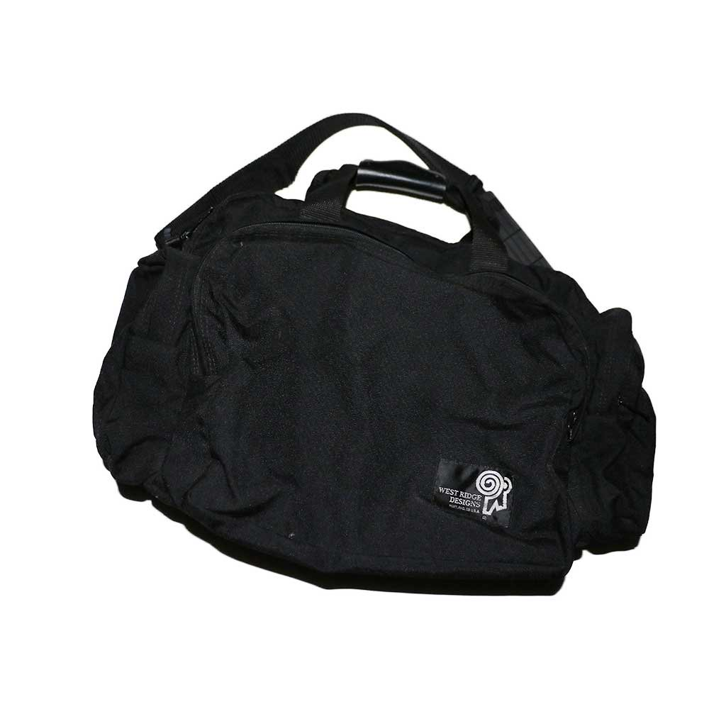 w-means(ダブルミーンズ) WEST RIDGE DESIGNS ナイロンショルダーバッグ(Made in U.S.A.)one size  Black 詳細画像