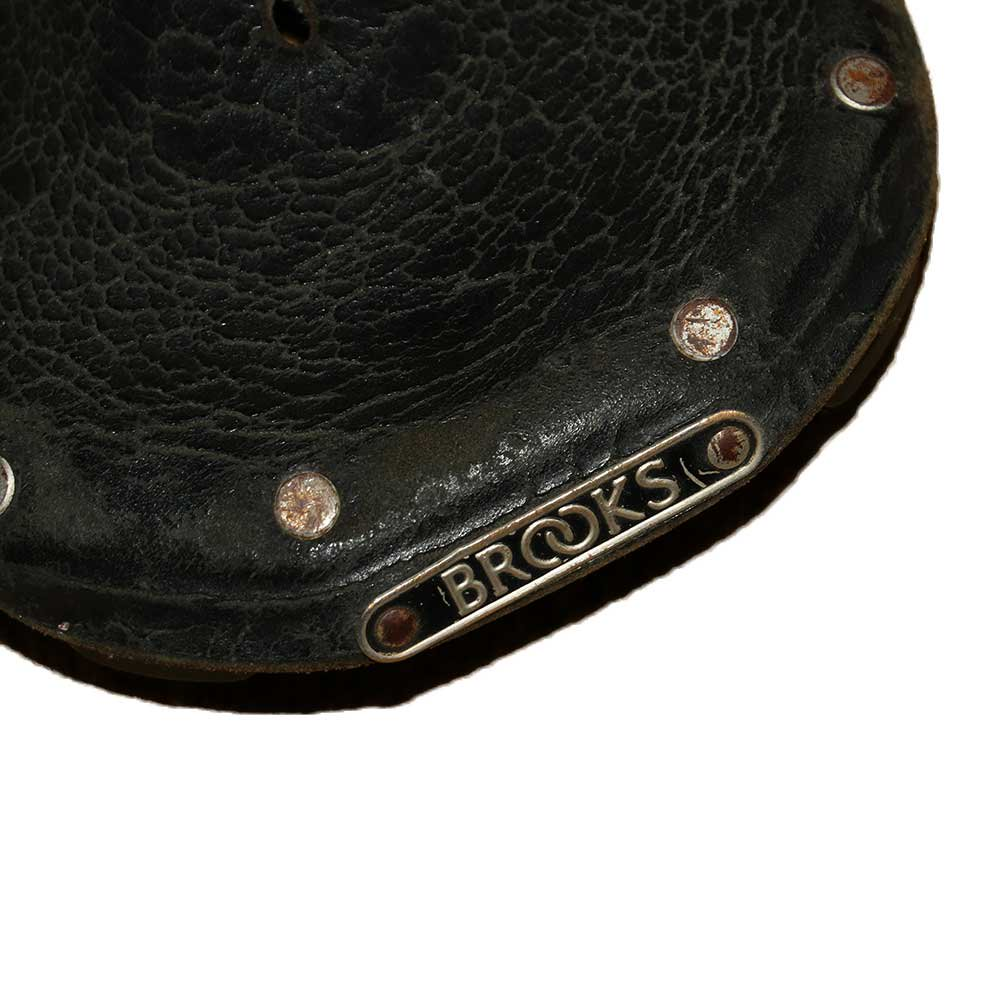 w-means(ダブルミーンズ) BROOKS サドル  (MADE IN ENGLAND)one size  Black 詳細画像3