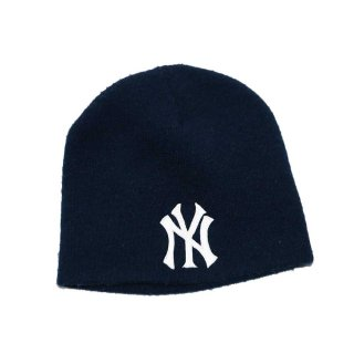 New York  Yankees  ニットキャップ  one size  紺