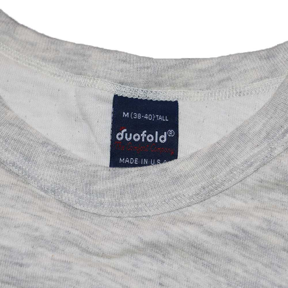 w-means(ダブルミーンズ) duofold (Made in U.S.A.)表記xL  生成色 詳細画像3