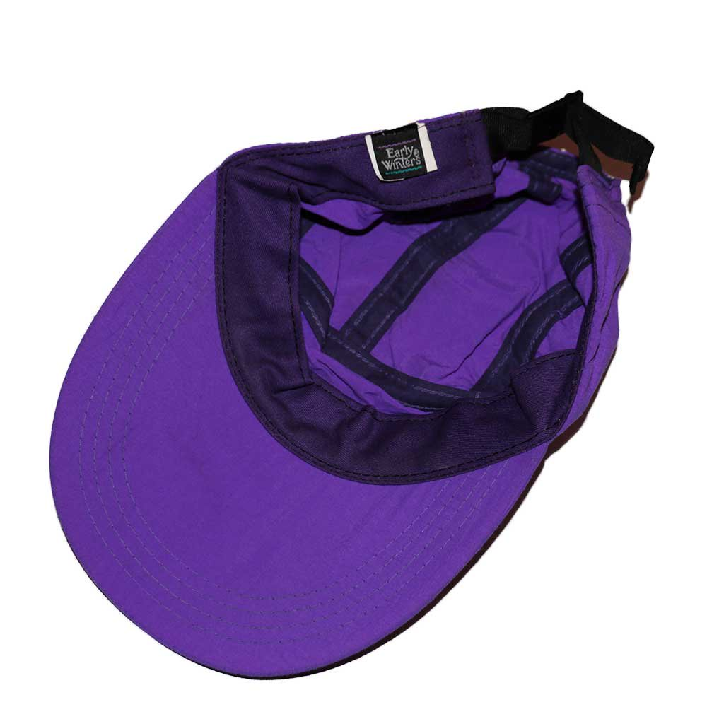 w-means(ダブルミーンズ) Early Winter  ナイロンキャップ(Made in U.S.A.)One Size  Purple 詳細画像1