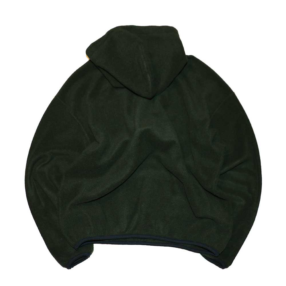 w-means(ダブルミーンズ) RUSSELL ATHLETIC  フリースプルオーバーパーカ(Made in U.S.A.)表記xL  olive 詳細画像2