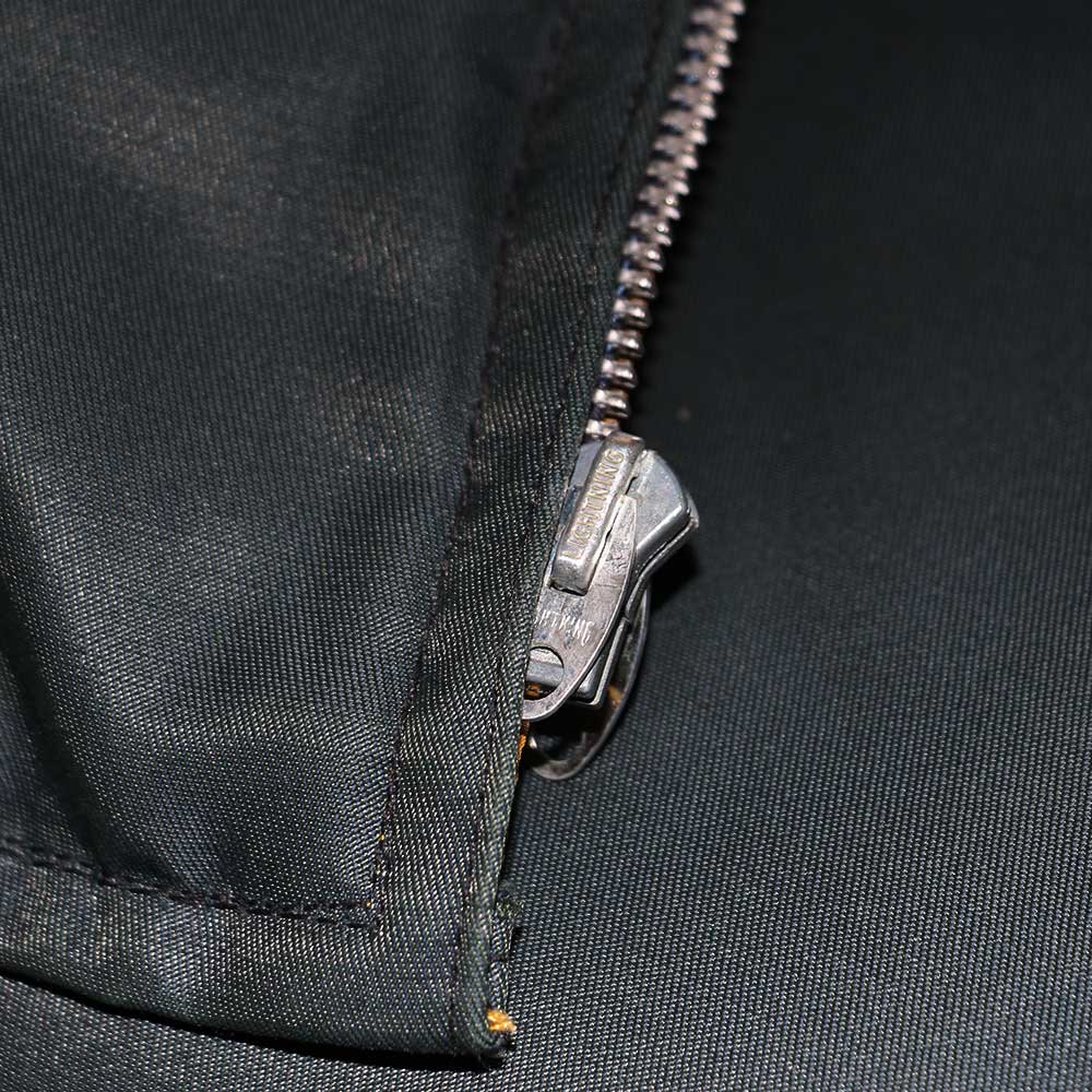 w-means(ダブルミーンズ) unknown INNER JACKET(リバーシブル)表記なし(Made in CANADA)マスタード×ネイビー 詳細画像5