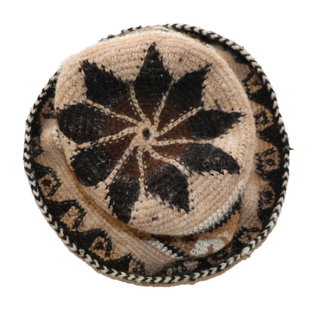 w-means(ダブルミーンズ) APAZA ALPACA HAT(MADE IN PERU)one size 総柄 詳細画像2