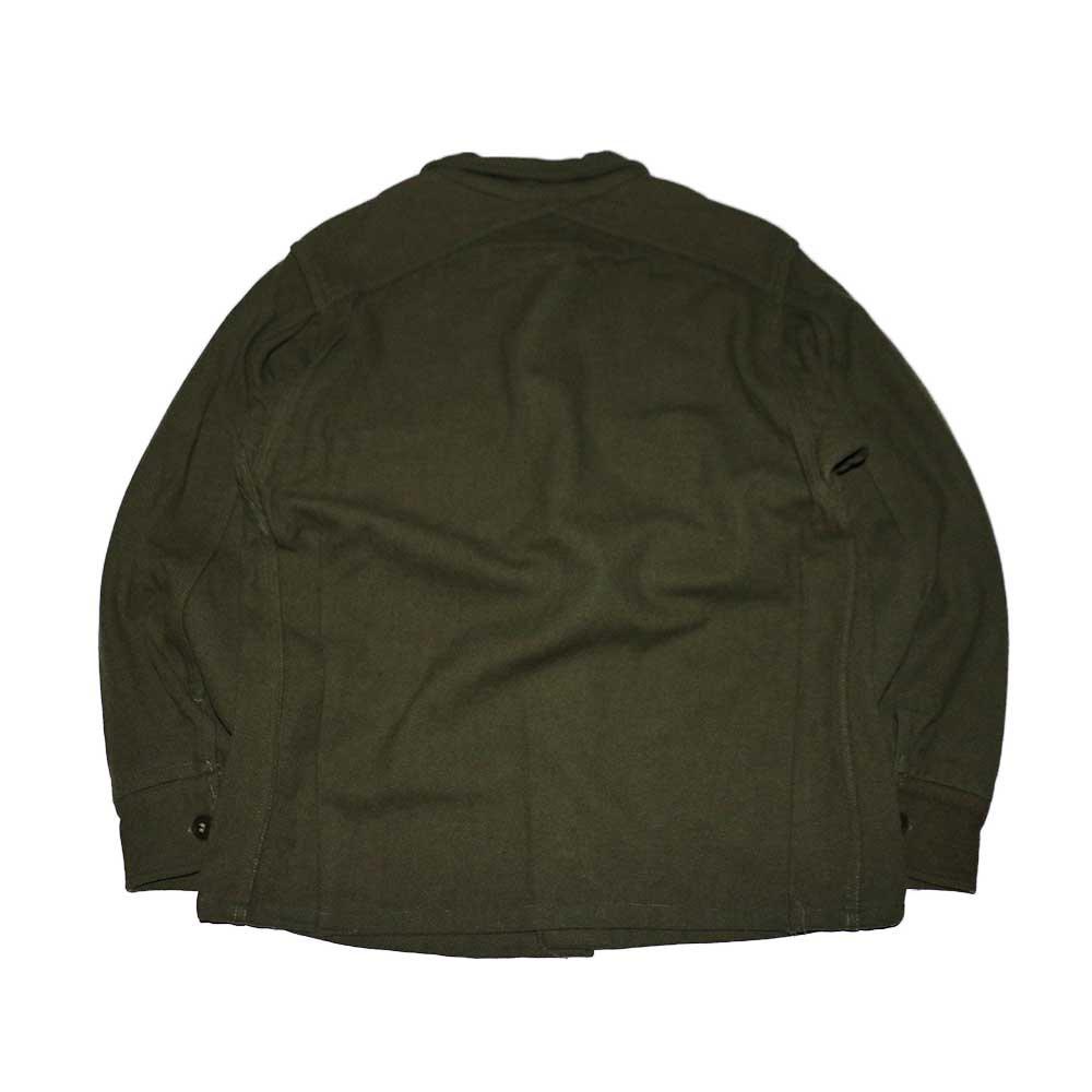 w-means(ダブルミーンズ) 60's U.S. ARMY ウールシャツジャケット  表記M  Armygreen 詳細画像2