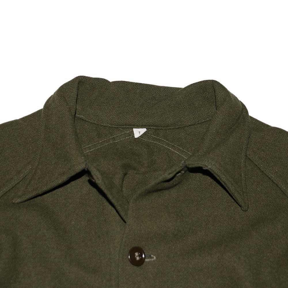 w-means(ダブルミーンズ) 60's U.S. ARMY ウールシャツジャケット  表記M  Armygreen 詳細画像3