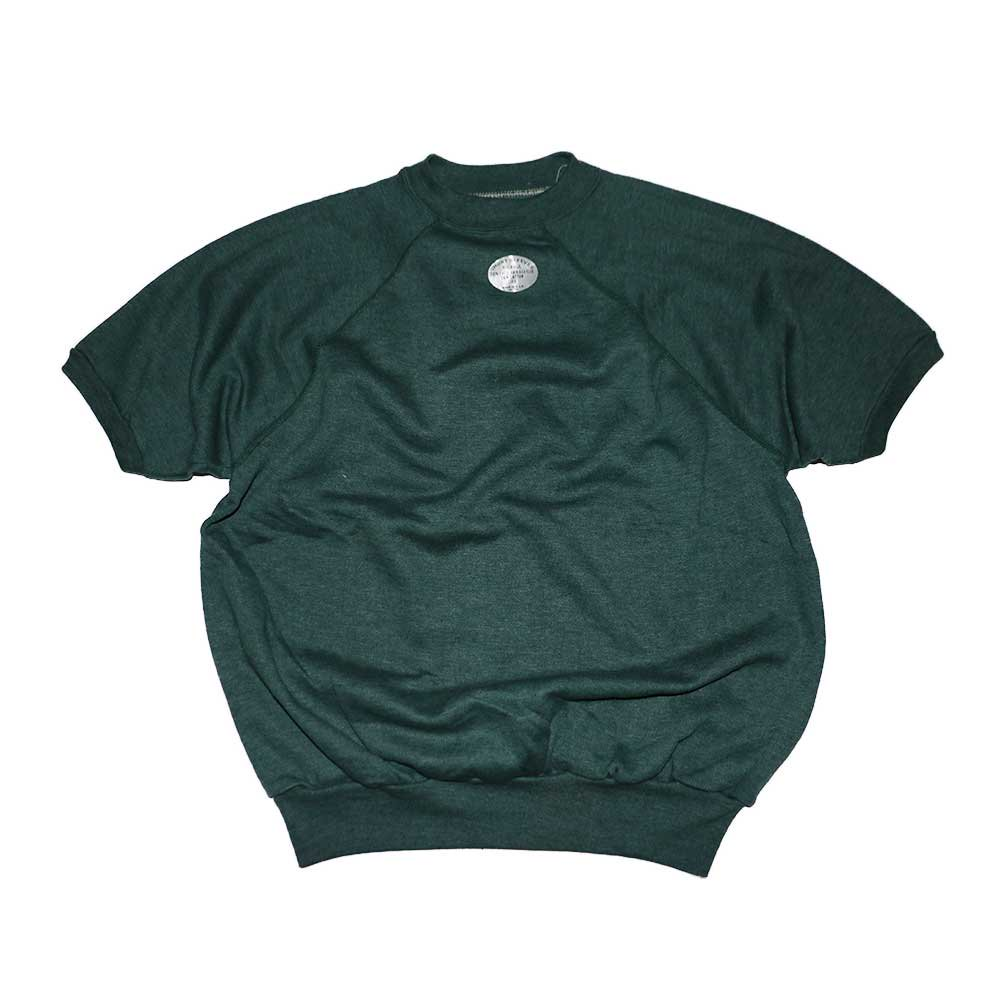 w-means(ダブルミーンズ) unknown short sleeves スウェット(Made in U.S.A.)表記xL Forestgreen 詳細画像