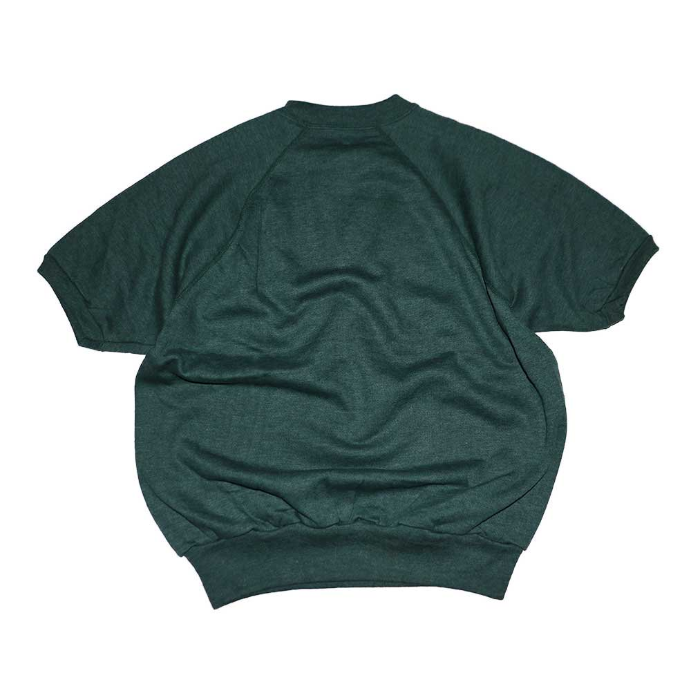 w-means(ダブルミーンズ) unknown short sleeves スウェット(Made in U.S.A.)表記xL Forestgreen 詳細画像1