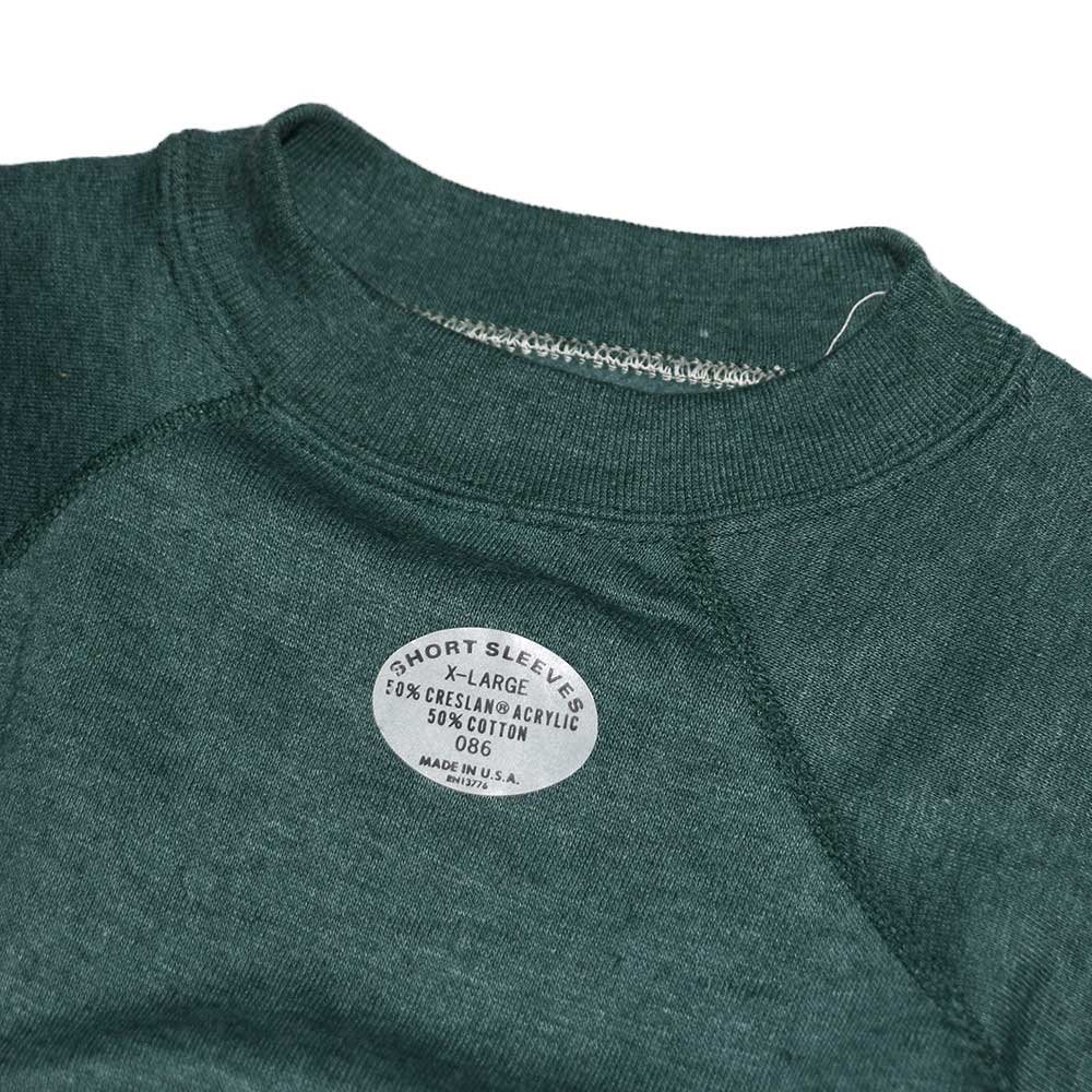 w-means(ダブルミーンズ) unknown short sleeves スウェット(Made in U.S.A.)表記xL Forestgreen 詳細画像3
