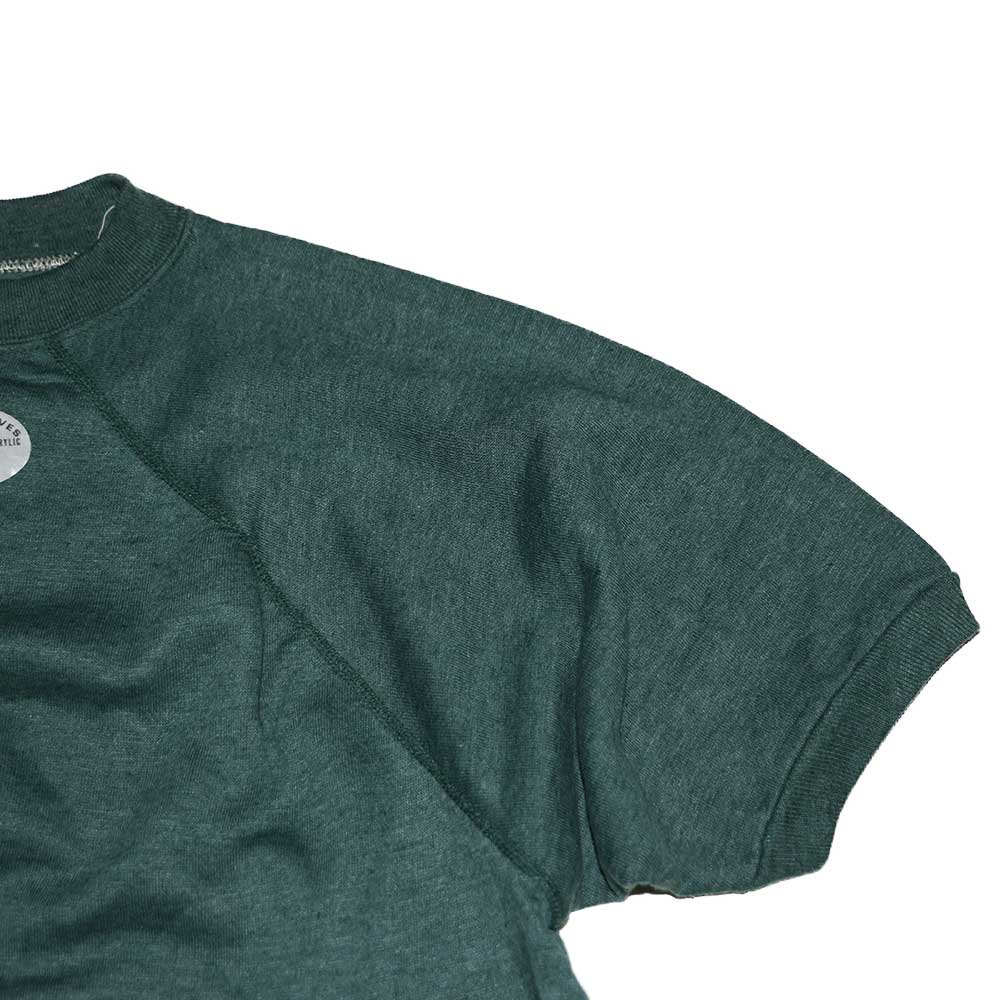 w-means(ダブルミーンズ) unknown short sleeves スウェット(Made in U.S.A.)表記xL Forestgreen 詳細画像4