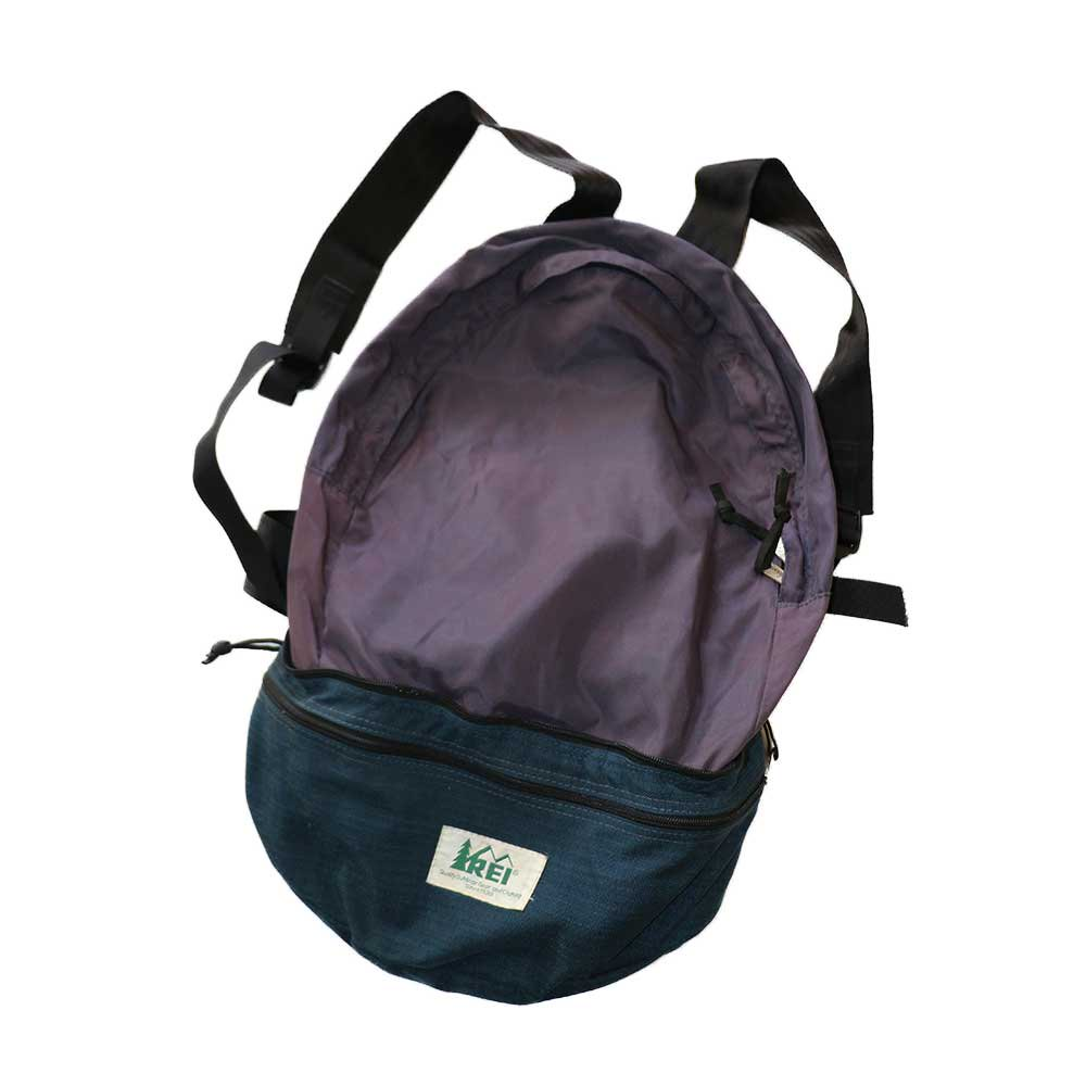 w-means(ダブルミーンズ) REI 2WAY ナイロンバッグパック  ONE SIZE   Navy×Purple 詳細画像3